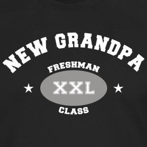 New Grandpa Personalize with Date or Name - Men's Premium Longsleeve Shirt