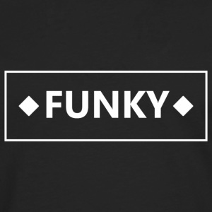 Cadre Funky blanc - T-shirt manches longues Premium Homme