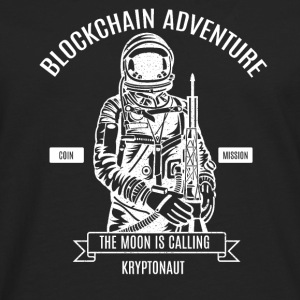 Blockchain Bitcoin Adventure - Men's Premium Longsleeve Shirt