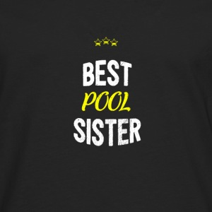 Distressed - BEST SISTER POOL - T-shirt manches longues Premium Homme