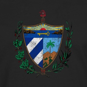Cuban Coat of Arms Cuba Symbol - Men's Premium Longsleeve Shirt