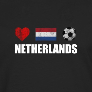 Netherlands Football Netherlander or Dutch Soccer - Men's Premium Longsleeve Shirt