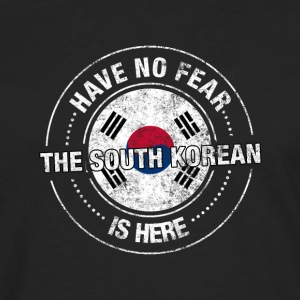 Have No Fear The South Korean Is Here - Men's Premium Longsleeve Shirt