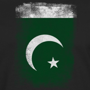 Pakistan Flag Proud Pakistan Vintage Distressed Sh - Men's Premium Longsleeve Shirt