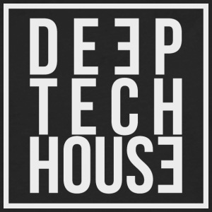 Deep Tech House av HouseMixRoom radioshow - Premium langermet T-skjorte for menn