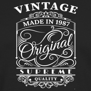 Vintage Made in 1987 Original - T-shirt manches longues Premium Homme