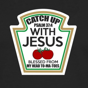 Catch up with Jesus - Männer Premium Langarmshirt