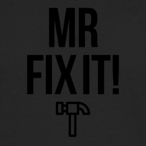 Mister Fix it - Premium langermet T-skjorte for menn