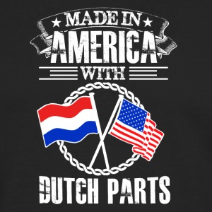 Made in America with Dutch Parts - Männer Premium Langarmshirt