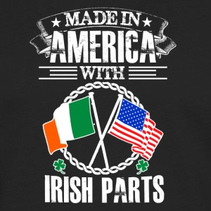 Made in America with Irish Parts - Männer Premium Langarmshirt