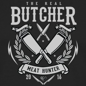 The Real Butcher - Men's Premium Longsleeve Shirt