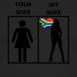 South Africa gift my your wife - Men's Premium Longsleeve Shirt