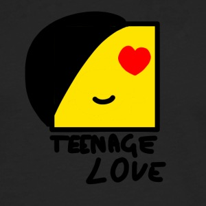 Emo Boy: Teenage Love - Herre premium T-shirt med lange ærmer