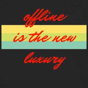 offline is the new luxury - Men's Premium Longsleeve Shirt