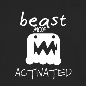 Monster mode activated - beast mode activated - Men's Premium Longsleeve Shirt