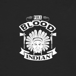 INDIAN | FULD BLOOD INDIAN - Herre premium T-shirt med lange ærmer