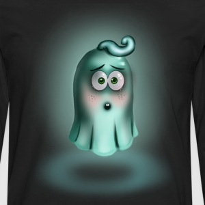 Little Turquoise Ghost - Men's Premium Longsleeve Shirt