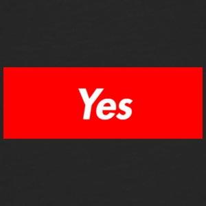 Yes - Men's Premium Longsleeve Shirt