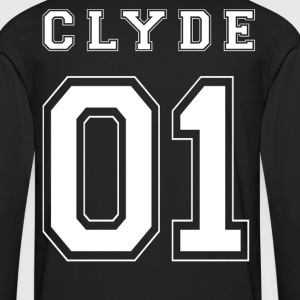 CLYDE 01 White Edition - T-shirt manches longues Premium Homme