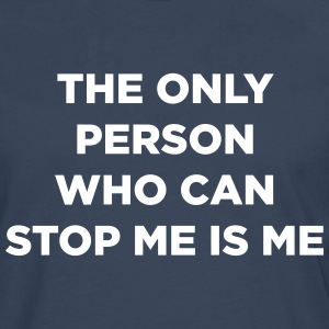 The Only Person - Männer Premium Langarmshirt