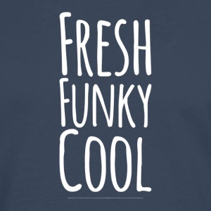 Cool blanc Funky Fresh - T-shirt manches longues Premium Homme