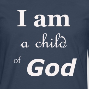 Child of God - Mannen Premium shirt met lange mouwen