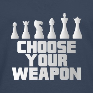 CHESS: CHOOSE YOUR WEAPON GIFT - Men's Premium Longsleeve Shirt