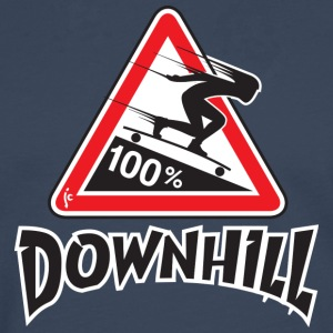 longboard downhill - T-shirt manches longues Premium Homme