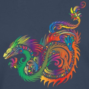 colorful dragon - Men's Premium Longsleeve Shirt