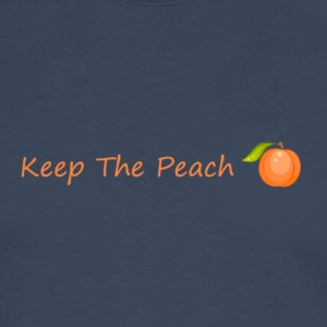 Keep the sweet peach with peach - Men's Premium Longsleeve Shirt