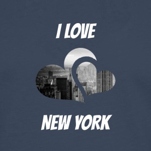 J'adore New York, I love NY - T-shirt manches longues Premium Homme