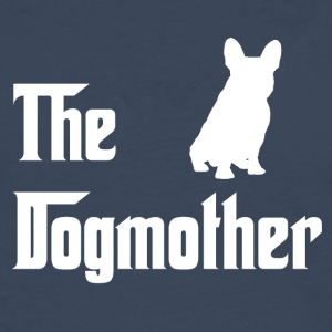 Dogmother_weiss - Camiseta de manga larga premium hombre