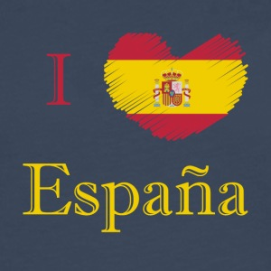 Spain Espana I love Spain country shirt - Men's Premium Longsleeve Shirt