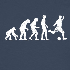 Evolution of soccer soccer ball - Men's Premium Longsleeve Shirt