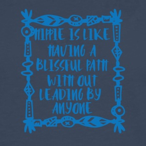 Hippie / Hippies: Hippie is like having a blissful - Men's Premium Longsleeve Shirt