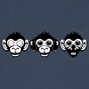 Three Wise Monkeys - Men's Premium Longsleeve Shirt
