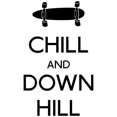chill and downhill longboard von zombie
