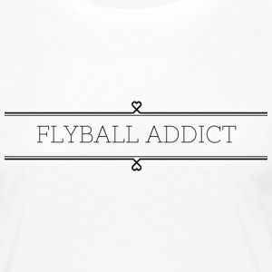 flyball Addict - T-shirt manches longues Premium Femme