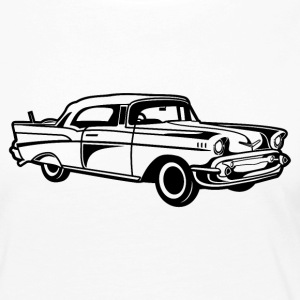 Chevy Bel Air / Oldtimer 01_black - Women's Premium Longsleeve Shirt