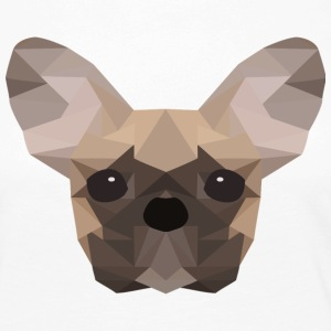 French Bulldog Low Poly