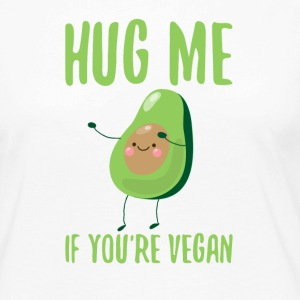 HUG ME - If you´re vegan - Frauen Premium Langarmshirt