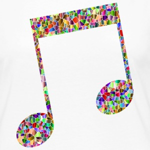 Musical note - Mosaic