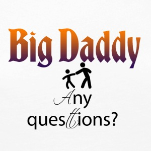 Big Daddy her - Premium langermet T-skjorte for kvinner