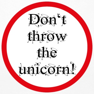 Don't throw the unicorn! - Frauen Premium Langarmshirt