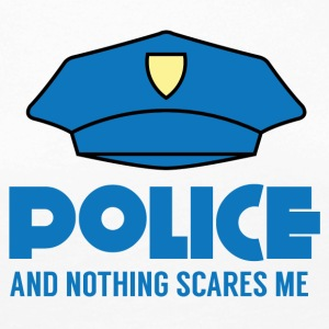 Police: Police And Nothing Scares Me - Women's Premium Longsleeve Shirt