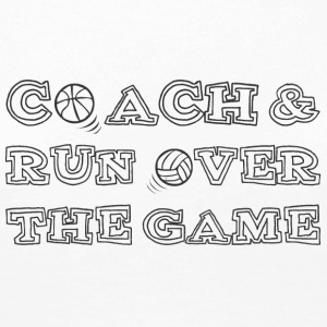 Coach / bil: Coach & Run Over The Game - Premium langermet T-skjorte for kvinner
