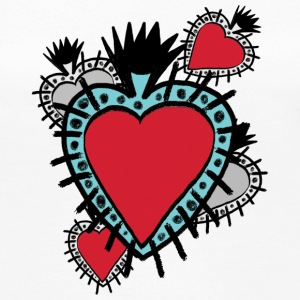 mexican heart - Women's Premium Longsleeve Shirt