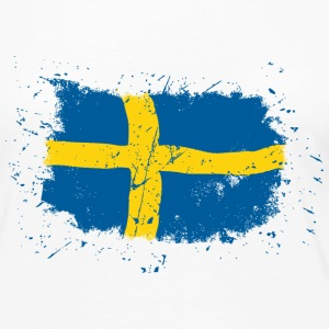 Sweden Flag - Vintage Look