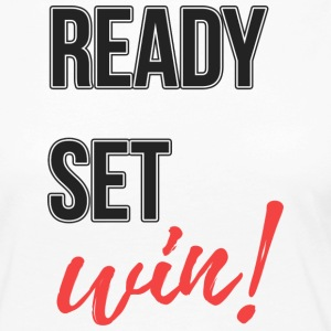 ready-set win - Women's Premium Longsleeve Shirt