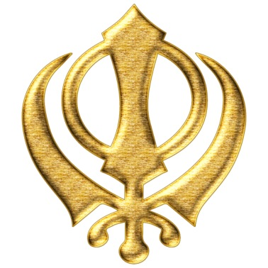 Khanda Sikh Symbol Swords Religion Sikhism Van Yuma Spreadshirt